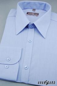 Klasyczna niebieska koszula męska