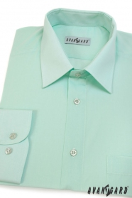 Zielona koszula męska