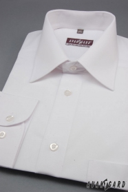 Koszula biała męska CLASSIC z długim rękawem