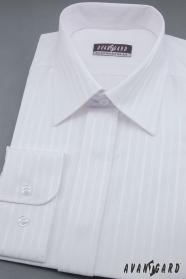 Biała męska koszula ślubna