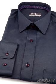 Granatowa koszula - Wyprzedaż