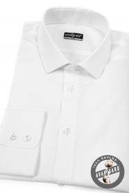 Biała koszula męska SLIM bawełna
