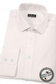 Koszula męska SLIM kremowy kolor z długim rękawem