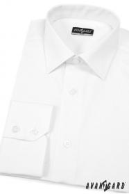 Koszula męska SLIM Biała prosta