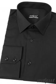 Męska koszula SLIM Czarna