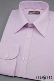 Koszula męska SLIM z długim rękawem kolor Liliowy