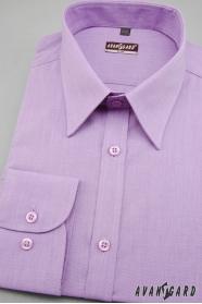 Koszula męska SLIM z długim rękawem fioletowa