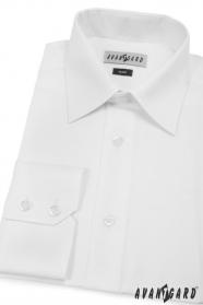 Koszula męska SLIM z długim rękawem Biała