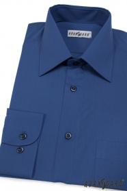 Koszule męskie klasyczne niebieska Royal