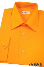 Koszula męska jasnopomarańczowa