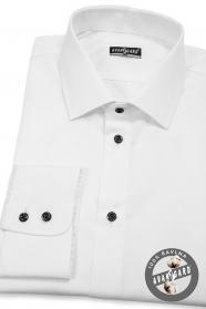 Biała koszula męska CLASSIC 100% bawełna