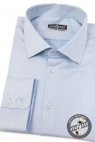 Jasnoniebieska koszula męska z długim rękawem