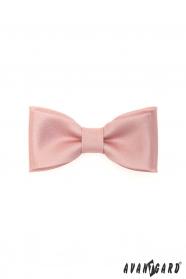 Muszka w różowym kolorze dla chłopca