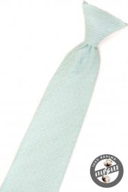 Krawat dla chłopca w kolorze miętowym