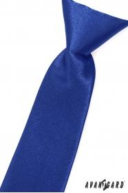 Granatowy krawat dla chłopca