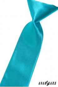 Ciemny turkusowy krawat dla chłopca