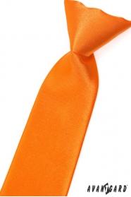 Pomarańczowy krawat dla chłopca