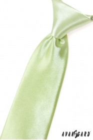 Krawat w kolorze limonkowej zieleni