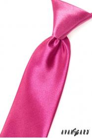 Krawat w kolorze fuksji dla chłopców