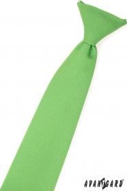 Trawa zielony krawat dla chłopca