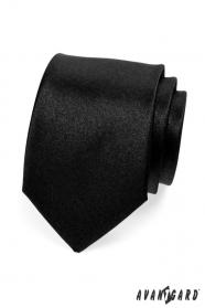 Czarny krawat męski