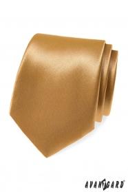 Beżowy krawat Avantgard