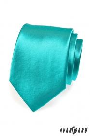Turkusowy krawat dla mężczyzn