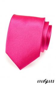 Męski różowy krawat w kolorze fuksji