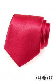 Czerwony krawat męski