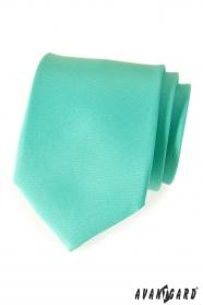 Krawat, miętowy mat