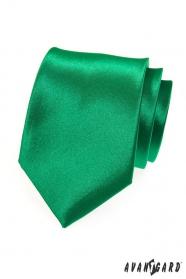 Zielony klasyczny krawat