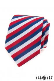 Krawat męski Tricolor Lux