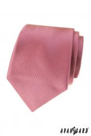 Ciemnoróżowy męski krawat