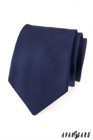 Ciemnoniebieski męski krawat Avantgard