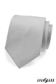 Jasnoszary krawat