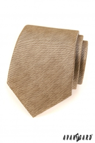 Krawat męski Avantgard beżowy