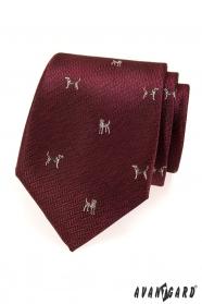 Krawat Bordo, pies