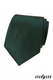 Ciemnozielony krawat