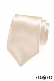 Krawat męski w odcieniu Ivory