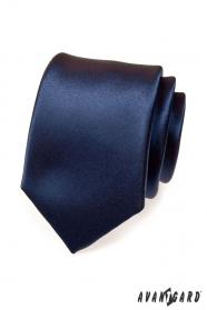 Krawat granatowy