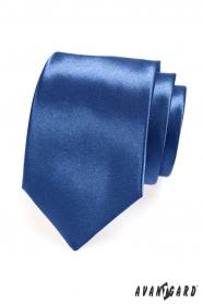 Błyszczący królewski niebieski krawat