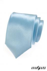 Lodowo-niebieski krawat