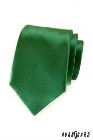 Krawat Avantgard w kolorze zielonym
