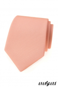 Krawat w kolorze łososiowego różu