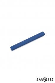 Niebieska spinka do krawata