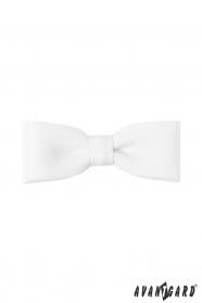 Biała muszka Classic 10 cm