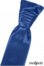 Krawat ślubny w niebieskim kolorze