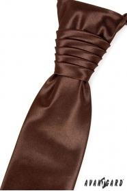 Czekoladowy krawat ślubny