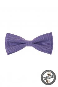 Męska bawełniana muszka w kolorze fioletowym
