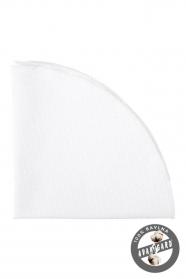 Biała bawełniana poszetka o delikatnej fakturze